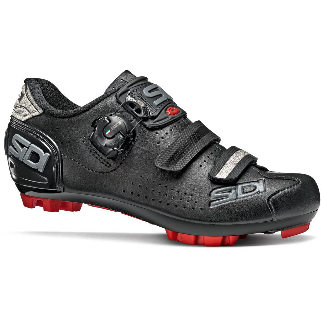 braun SIDI SCARPE MTB Gravel Schuhe schwarz