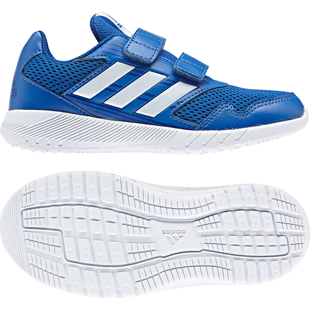 good service cheap for discount best selling Adidas Alta Run CK Klett Sportschuh Blue / Ftwr White / Collegiate Royal  Kinder
