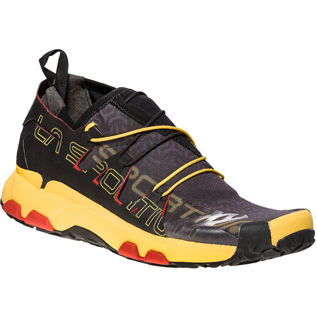 La Sportiva Unika Running Shoes Black / Yellow Men