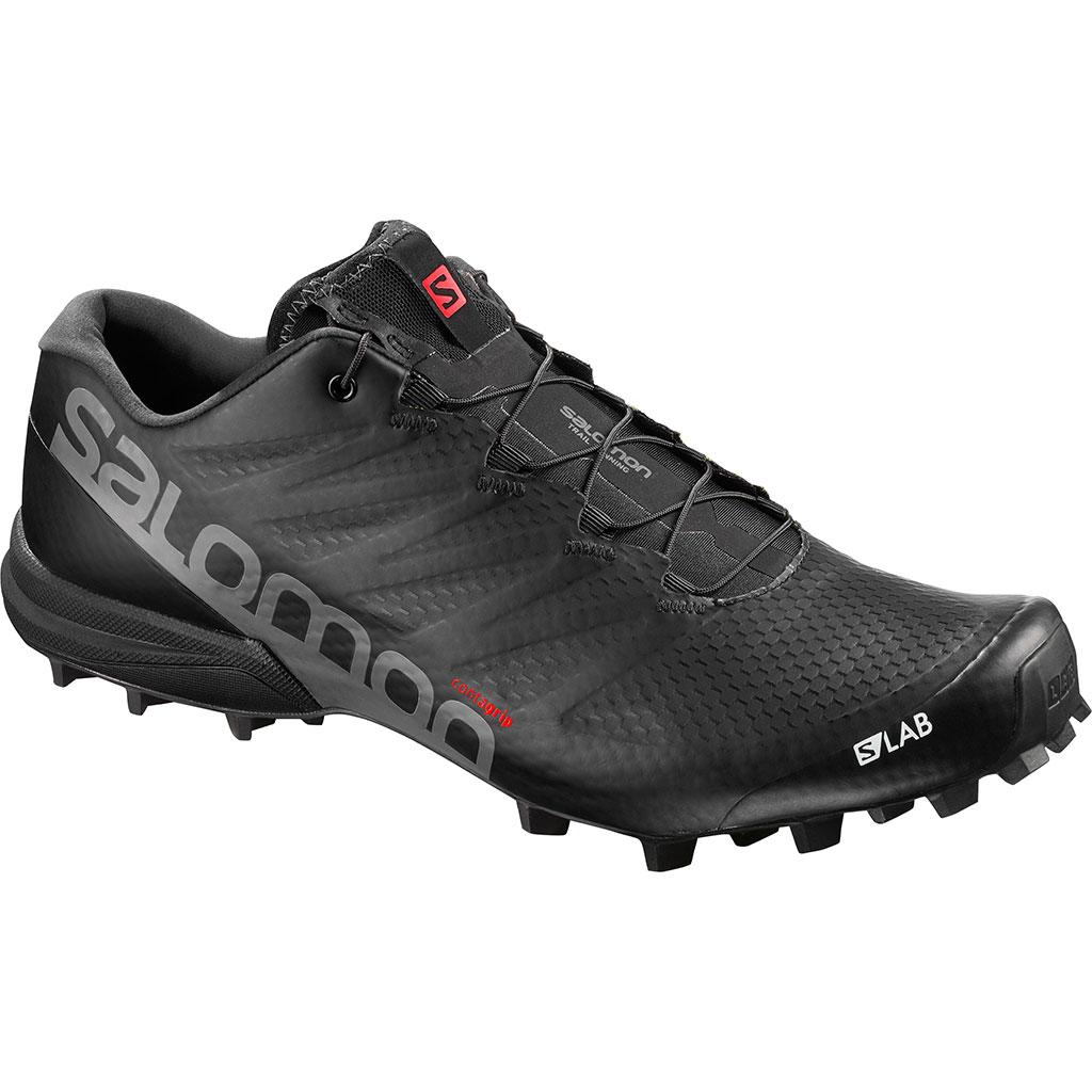 Salomon S/Lab Speed 2 Running Shoes Black / Racing Red / White Men