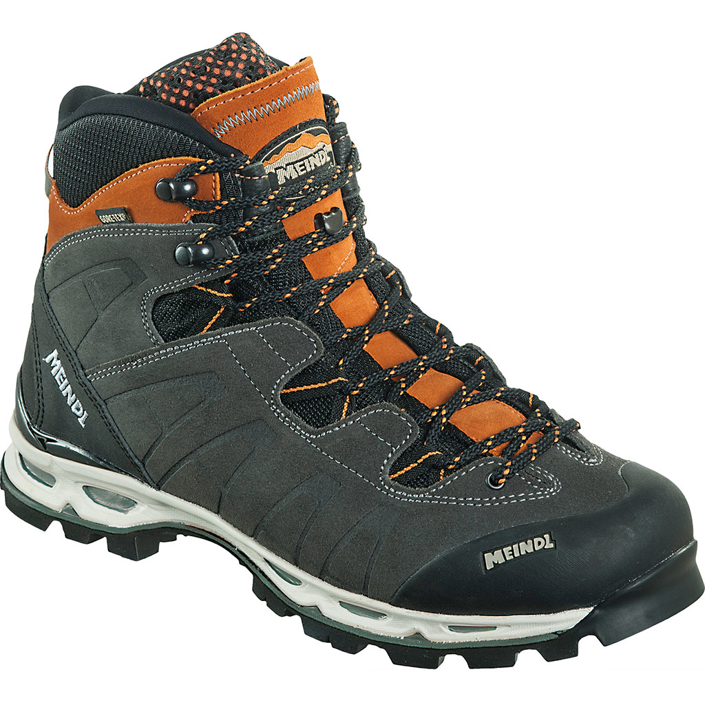Meindl Air Revolution Ultra GTX® Wander Trekkingschuh Anthrazit Orange Herren
