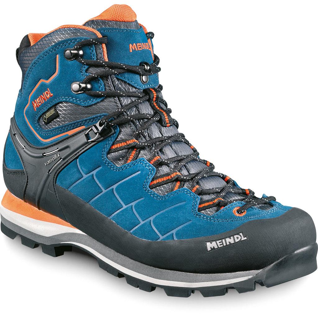 Meindl Litepeak GTX® Wander und Trekkingschuh Blau Orange Herren