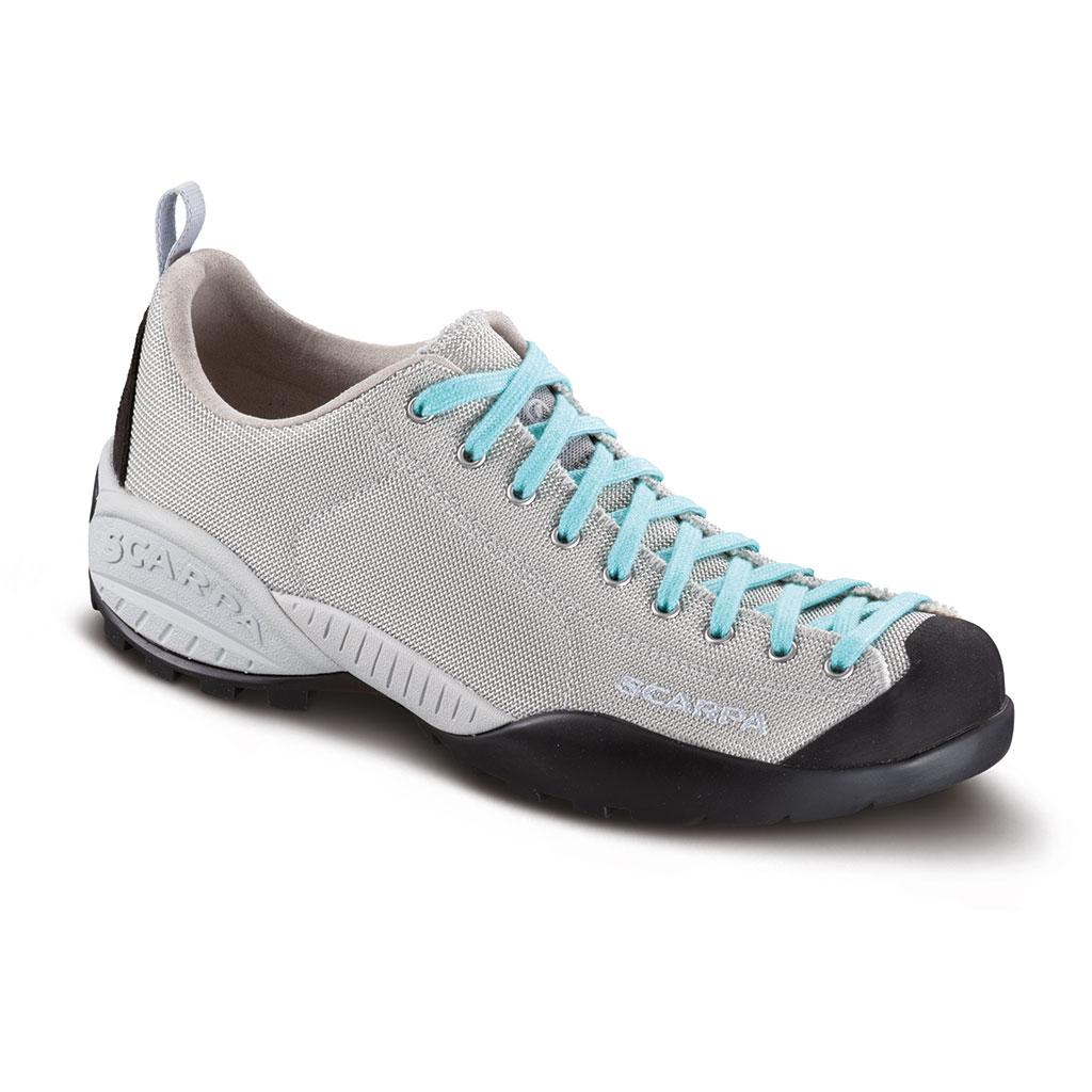Scarpa Schuhe Mojito Fresh Größe 38,5 silver/maledive