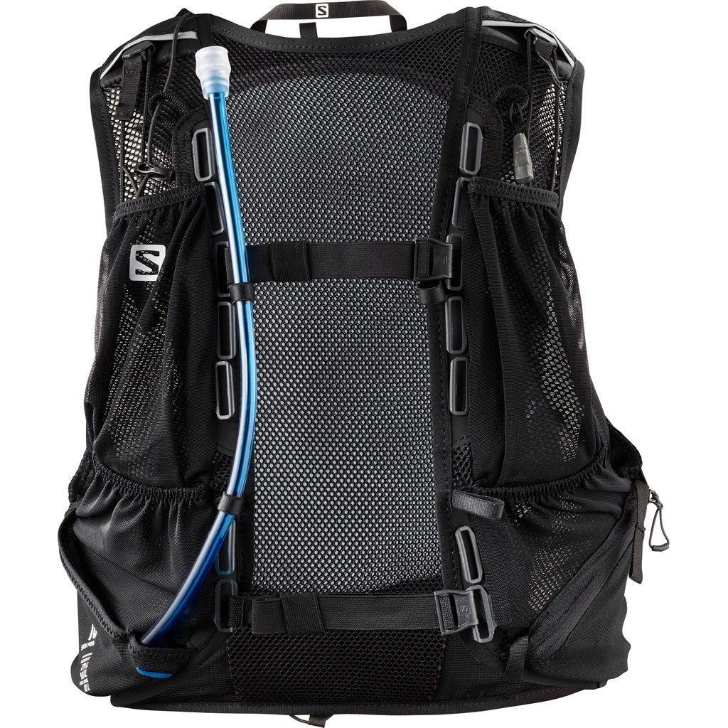 4f63351e Salomon Skin Pro 10 Set Backpack Black / Ebony