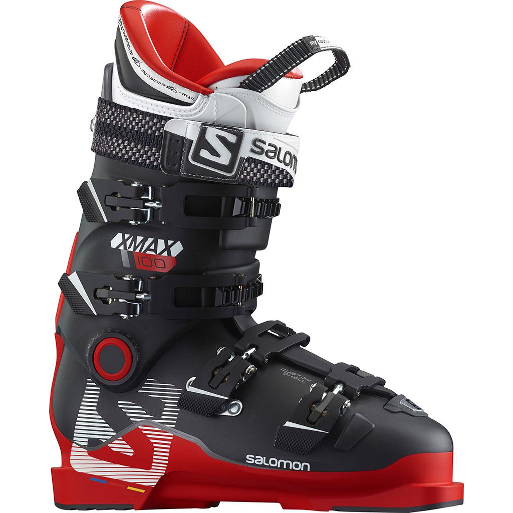 100 Ski Max Redblack Men Salomon X Boots HD9EWe2IYb
