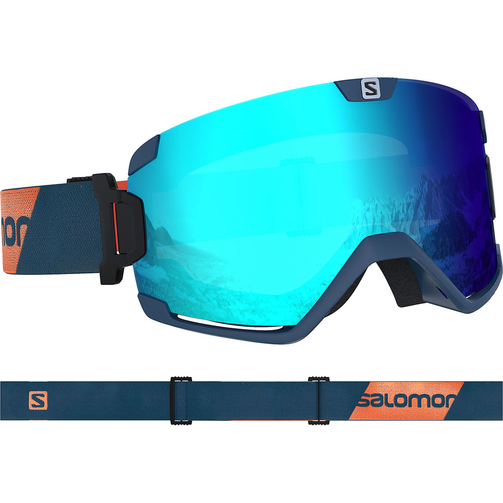 énorme réduction 14a33 0dd80 Salomon Cosmic Goggle Moroccan Blue / Uni M. Blue