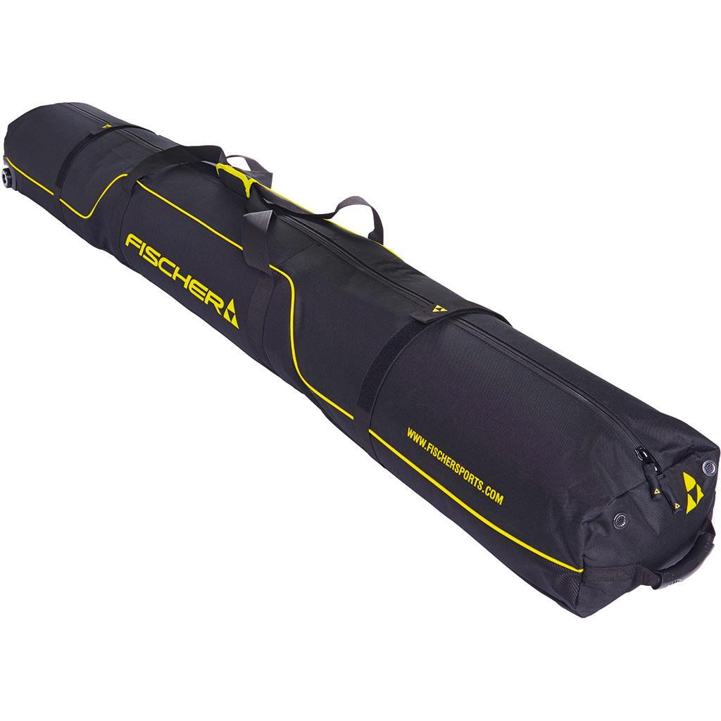 Fischer Skicase 5 Pair XC Performance Wheels 210cm Skibag Black