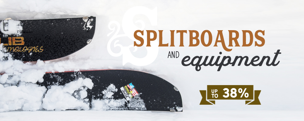 *2 Splitboards SALE