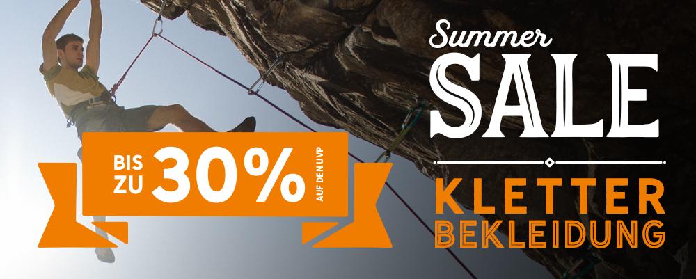 *7 Summer Sale Klettern