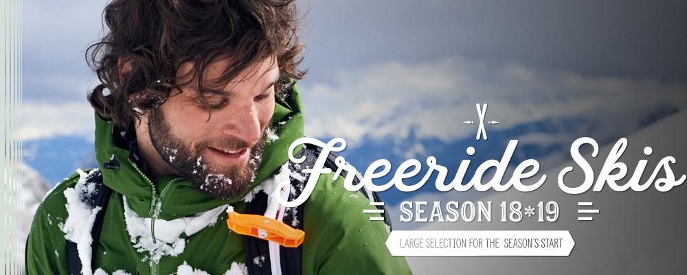 *4 Freeride Skis
