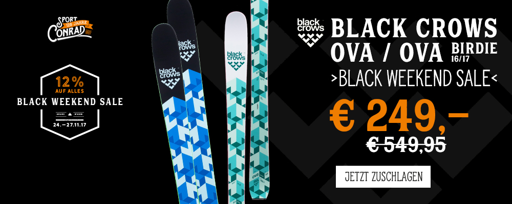 *Black Weekend Sale Black Crows