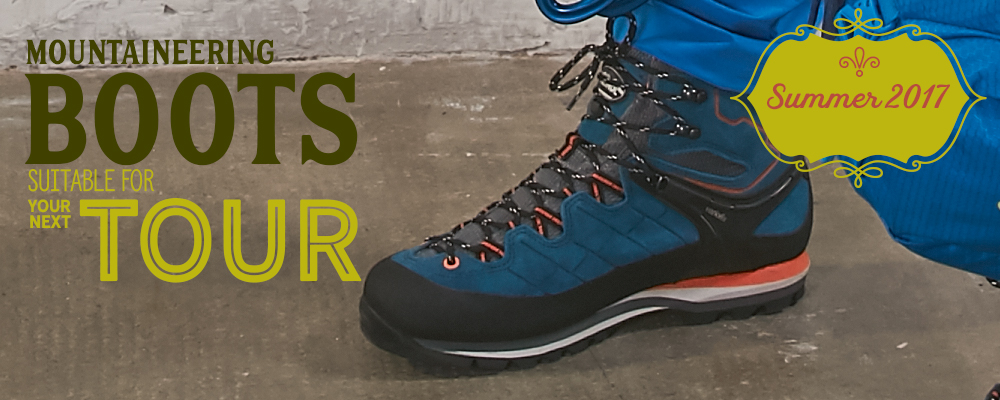 *Mountaineering Boots