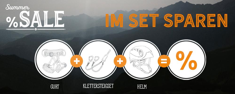 *Summer Sale Klettersteigset