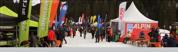 Tiefschneetage Ski Testival
