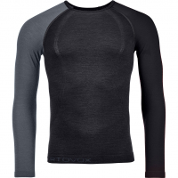 120 Comp Light  Funktionsshirt Lang Black Raven Herren
