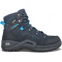 Kody III GTX® Mid Junior  Wander- und Trekkingschuh Navy / Türkis Kinder