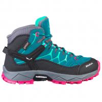 Alp Trainer Mid GTX® Junior  Wander- und Trekkingschuh Shaded Spruce / Rose Red Kinder