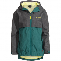 Hylax 2L  Rainjacket Petroleum Kids