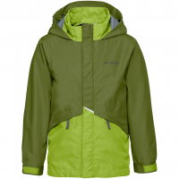 Escape Light  Rain Jacket Holly Green Kids