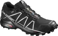 Speedcross 4 GTX®  Runningschuh Black/Silver Metallic-X Herren