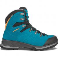 Badia Lady GTX®  Wander- und Trekkingschuh Turquoise / Mandarin Damen