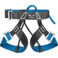 Via Ferrata Evo  Harness Carbon / Polar Blue Men
