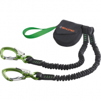 Skysafe Sam  Via Ferrata Black/Green Kids