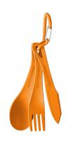 Delta Set  Cutlery Orange