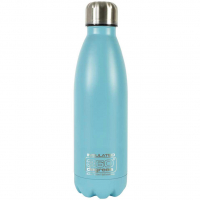 Insulated Soda 550ML  Vacuum Bottle Pastel Blue