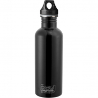 Stainless Steal 1,0L  Bottle Black