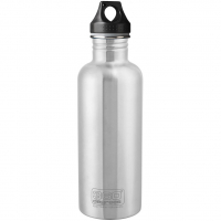 Edelstahl 1,0L  Flasche Silver
