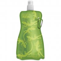 Flexi 750ml  Flasche Gecko On Green
