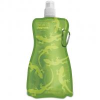 Flexi 750ml  Bottle Gecko On Green