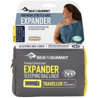 Expander Liner Traveller mit Pillow Insert  Hüttenschlafsack Navy