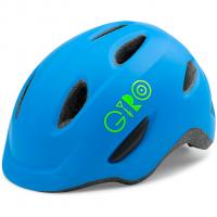 Scamp  Bikehelm Mat Blue / Lime Kinder