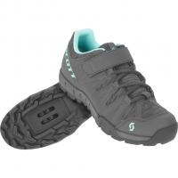 Sport Trail  Bike Shoes Dark Grey / Turquoise Blue Women