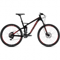 Kato FS 3.7 AL U  Mountainbike Jet Black / Riot Red Herren