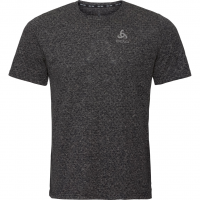 Millenium Linencool  T-Shirt Black Melange Herren
