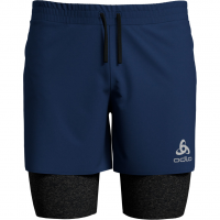 Millennium Linencool Pro 2-in-1   Shorts Estate Blue / Black Herren