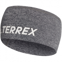 Terrex Trail  Stirnband Grey / White