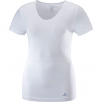 Elevate Move`on SS  T-Shirt White Women