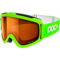 Pocito Iris  Ski-/Snowboardbrille Fluorescent Green / Sonar Orange Kinder