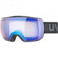 Compact V  Ski-/Snowboardbrille Black Mat / Mirror Blue / Variomatic®