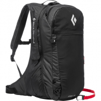 Jetforce Pro 25  Avalanche Backpack Black