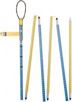 Aluminium 260 cm  Probe Blau / Gelb