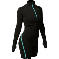 Zipbody   Funktionsshirt Lang Black Damen