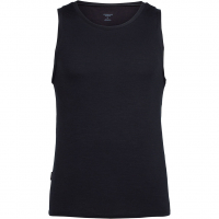 Anatomica Tank   Shortsleeve Black/Monsoon  Men