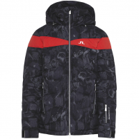 Crillon Down  Ski Jacket Black Sports Camo Men