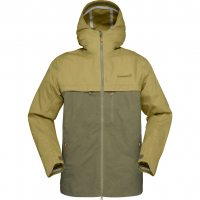 Svalbard Cotton  Rain Jacket Olive Drab Men