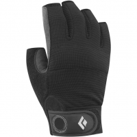e4adcfaab33e47 Black Diamond Crag Half Klettersteig-Handschuh Black